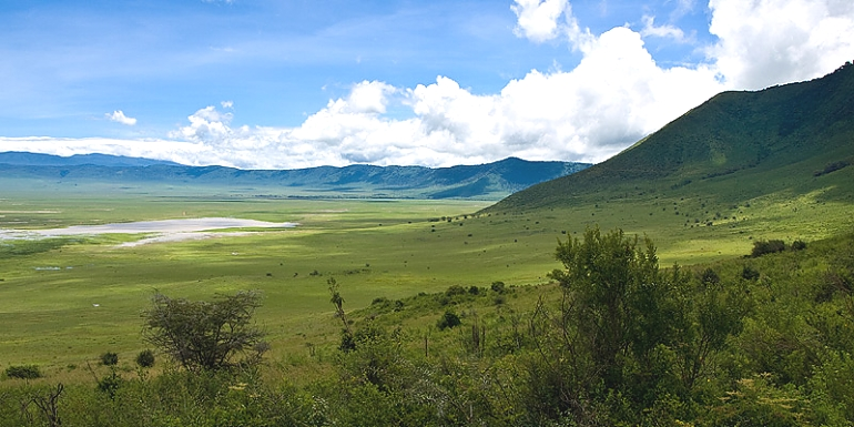The Famous Ngorongoro Crater